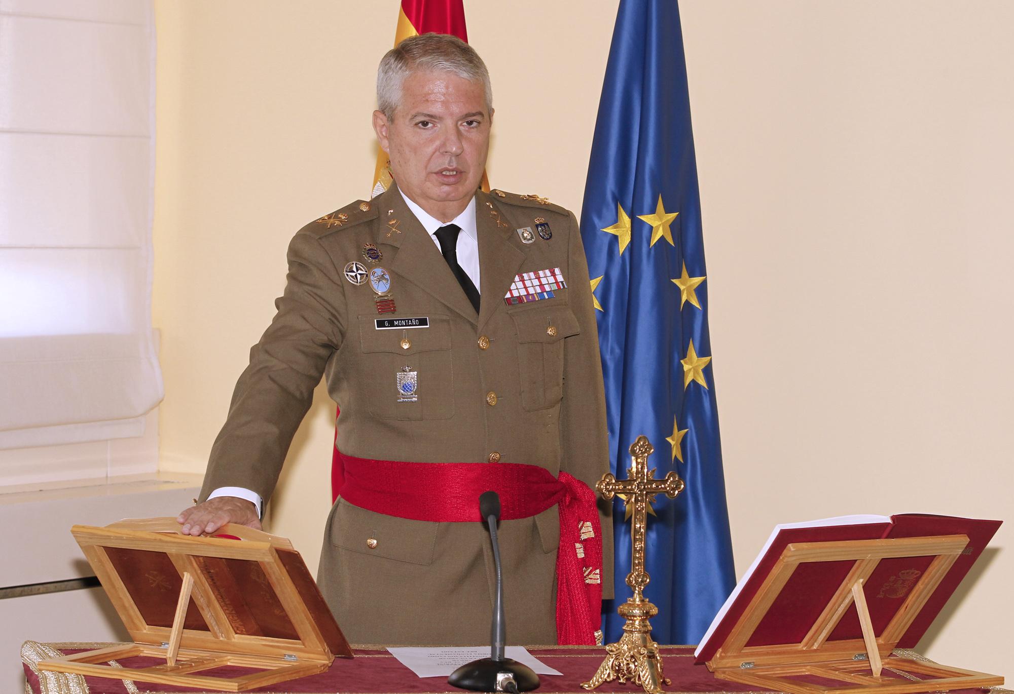 Juan Manuel García Montaño ya es Teniente General ...